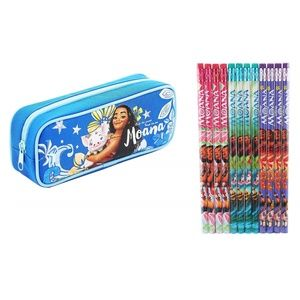 Disney Moana Pencil Case Zippered Bag